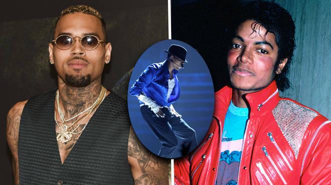 Chris Brown reflects on Michael Jackson praising him on Instagram