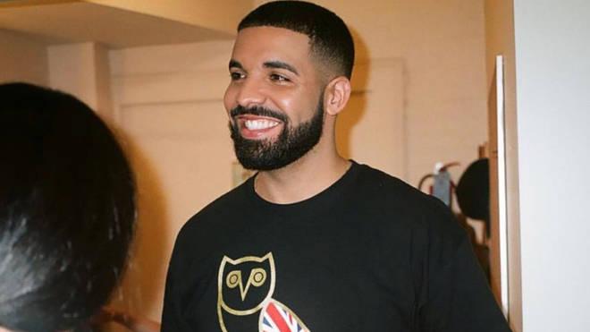 Drake Wearing OVO London T-Shirt