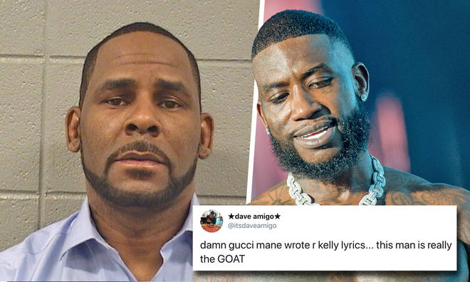 Gucci Mane was R Kelly's ghost writer