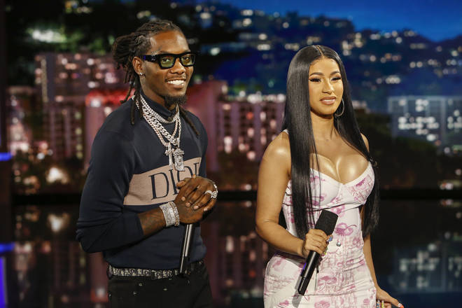 Offset, who is married to fellow rapper Cardi B, later claimed that his Instagram account was hacked. (Pictured here in July 2019.)