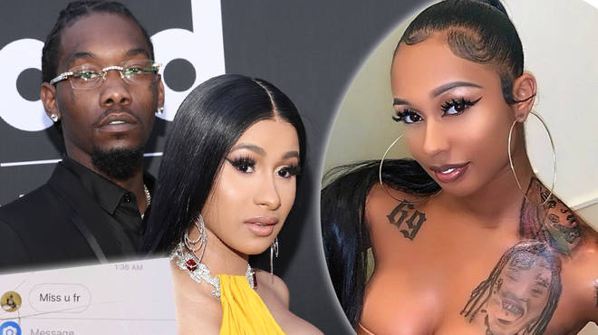 Cardi B & Offset deny cheating rumours after 6ix9ine's girlfriend exposes Migos rapper's DM's