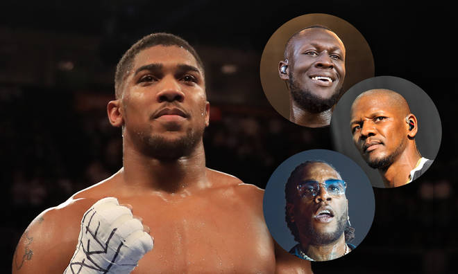 Who will provide Anthony Joshua's entrance song the he fights Ruiz again in Dubai?