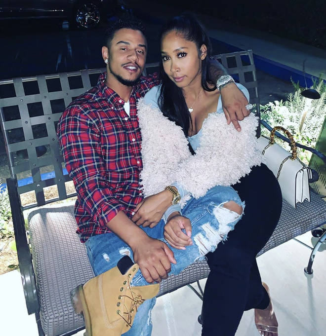 Jones and Fizz have faced criticism over their relationship owing to Jones' previous relationship with Omarion.