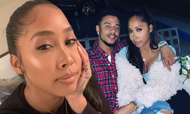 Apryl Jones has been accused of cheating on Lil Fizz.