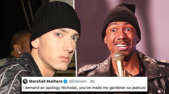 Eminem responds to Nick Cannon's diss track