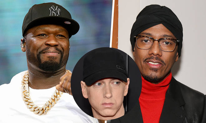 50 Cent has roasted Nick Cannon for his Eminem diss