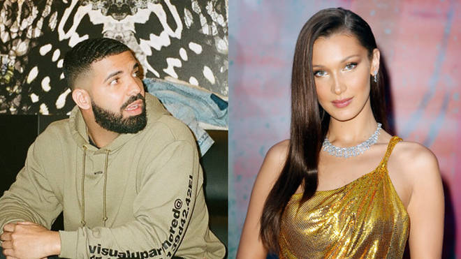 Drake and Bella Hadid