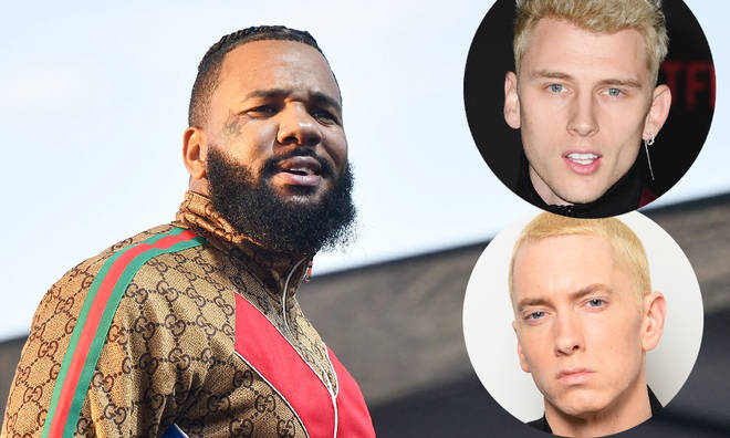 The Game believe Machine Gun Kelly won rap beef between him and Eminem