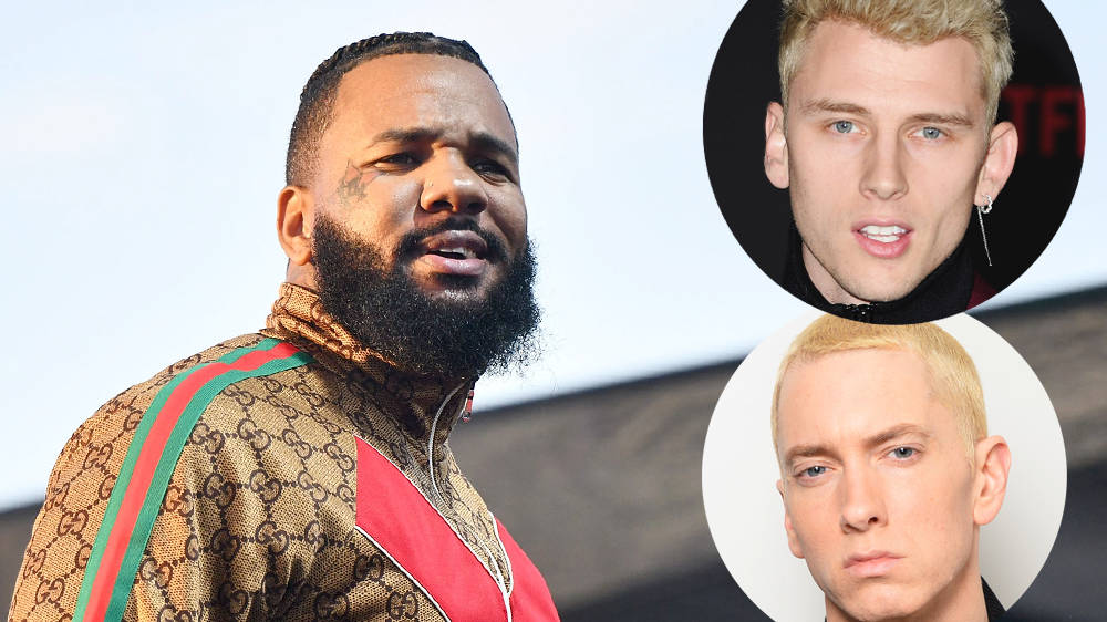 The Game claims Eminem lost to Machine Gun Kelly in their rap beef