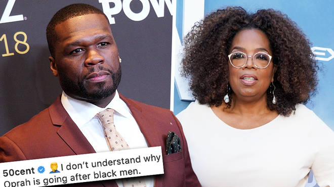 50 Cent accuses Oprah Winfrey of only targeting black men who have been accused of sexual assault