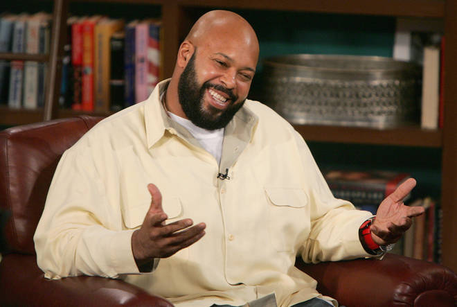 Suge Knight on 'The Late Late Show' on November 18, 2004 in Los Angeles, California. (Photo by Mark Mainz/Getty Images)