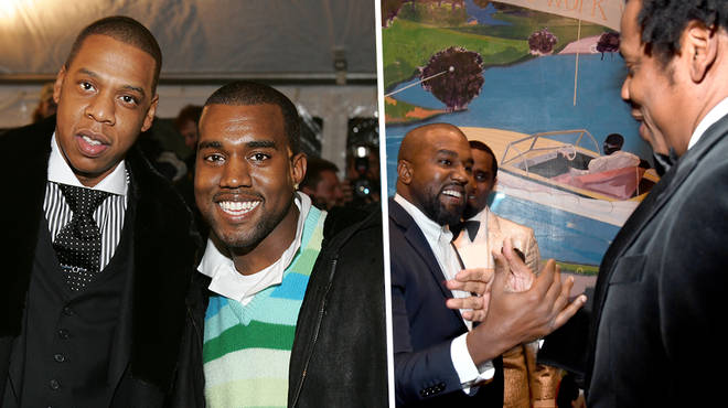 Jay-z and Kanye West fans react to their reunion