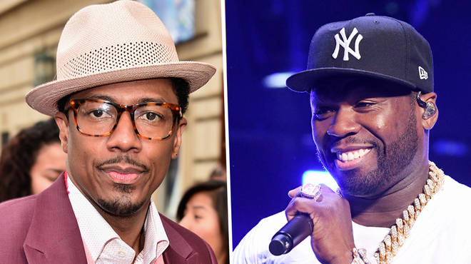 Nick Cannon challenges 50 Cent to a rap battle
