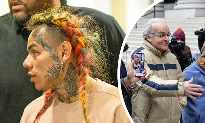 Tekashi 6ix9ine's father make surprise appearance at court