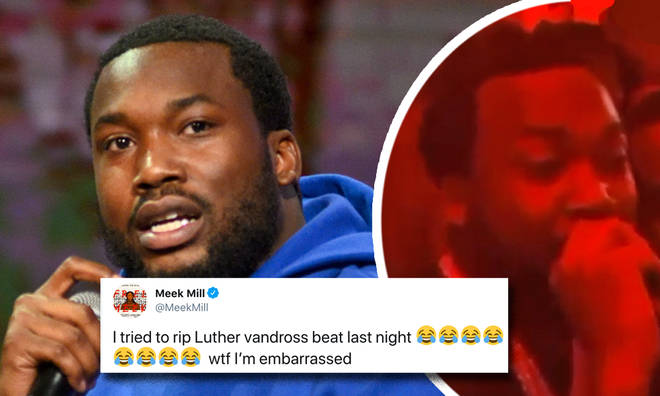 Meek Mill drunkely covers Luther Vandross
