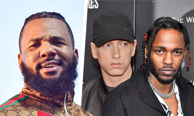 The Game suggests Kendrick Lamar is a more dangerous rapper than Eminem