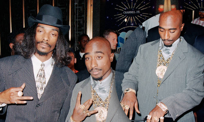 Snoop Dogg posted a nostalgic clip from the 1996 MTV Video Music Awards.