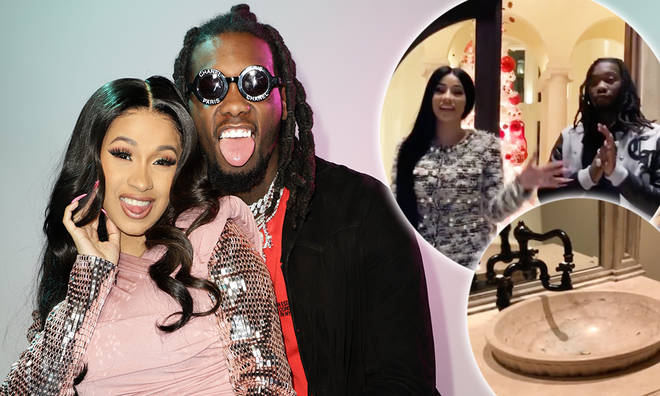 Cardi B & Offset show off their luxury mansion: The tour
