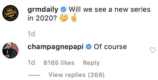 Drake confirms Top Boy will be making a return