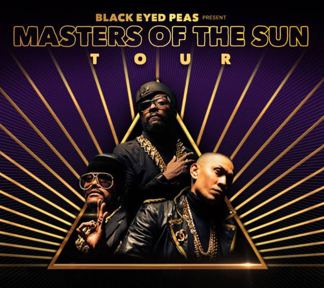 The Black Eyed Peas 'Masters Of The Sun' Tour.