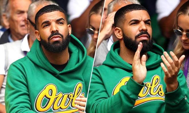 Drake at Wimbledon.