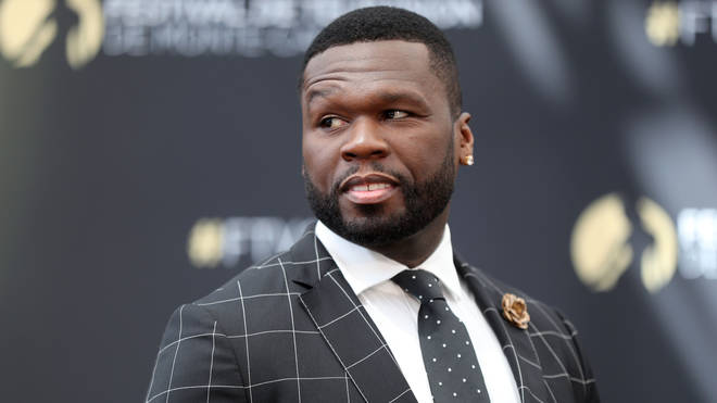 50 Cent, aka Curtis Jackson, poses during a photocall for the TV show 'Power'.