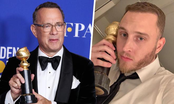 Tom Hanks' son Chet Hanks speaking patois has gone viral