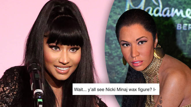 Nicki Minaj's fans took to Twitter to roast the waxwork, which was originally displayed in Las Vegas in 2015.