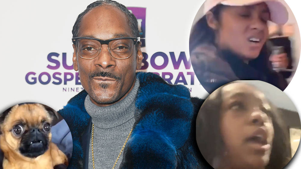 Snoop Dogg reacts to R. Kelly's girlfriends' fight footage with