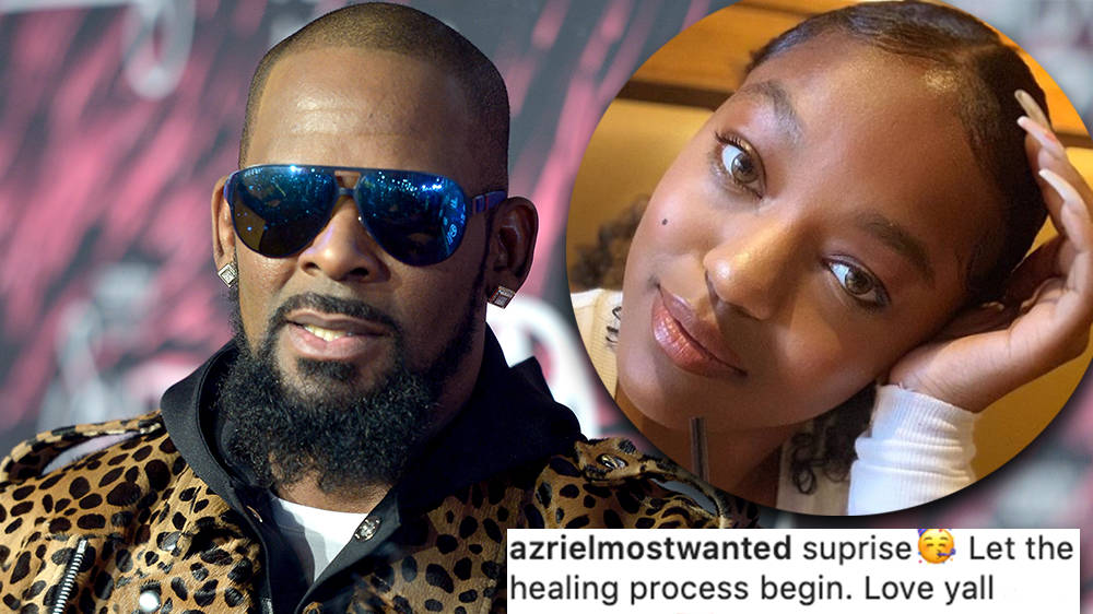 R. Kelly's ex-girlfriend Azriel Clary reunites with family days after Jocelyn Savage fight
