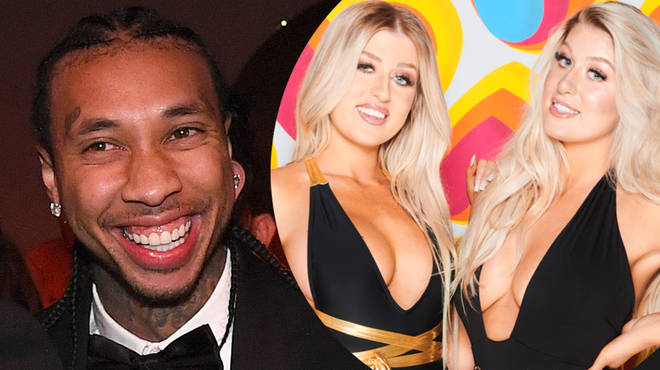 Tyga has responded to Eve Gale's claims they exchanged flirty messages