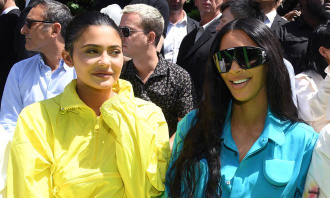 Kylie Jenner & Kim Kardashian.