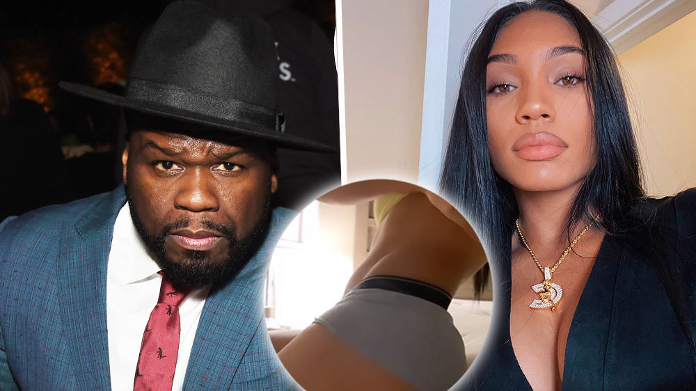 50 Cent trolls girlfriend Cuban Link for sharing her post-gym body on Instagram
