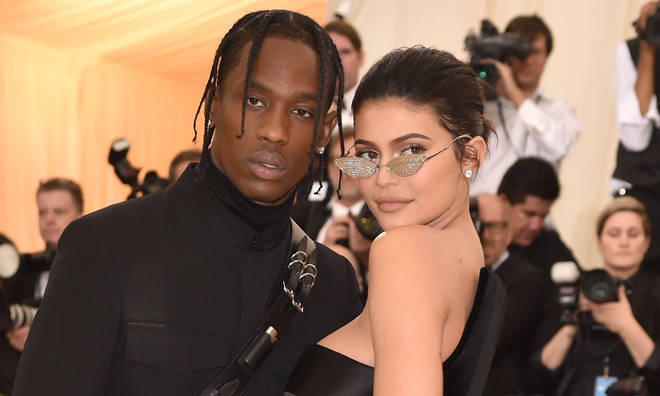 Travis Scott and Kylie Jenner.