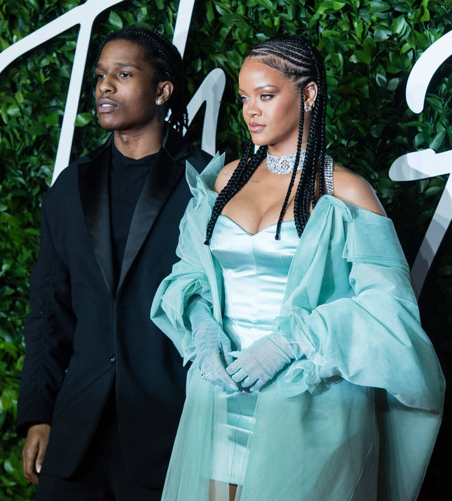 Rihanna and A$AP Rocky have known each other for years. (Pictured here in December 2019.)