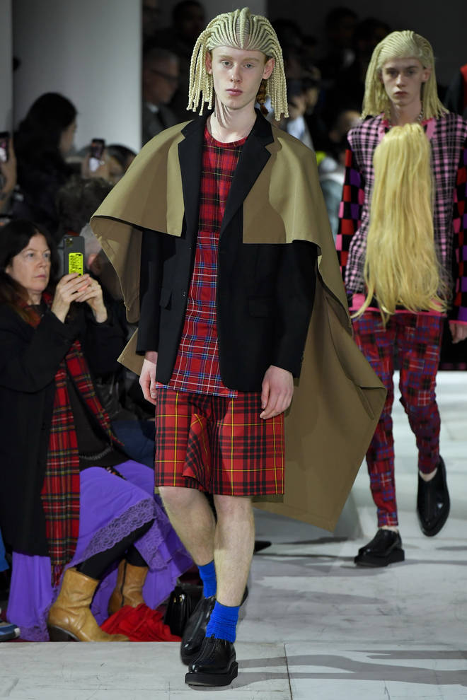 Comme Des Garcons Homme Plus : Runway - Paris Fashion Week - Menswear F/W 2020-2021