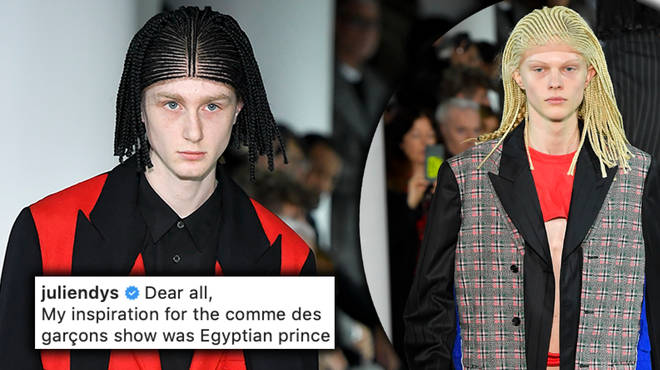 "Comme Des Garçons has ""deeply and sincerely"" apologised following the backlash"