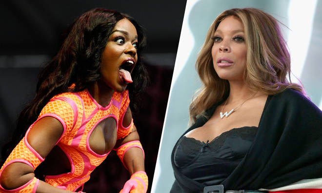 Azealia Banks and Wendy Williams.