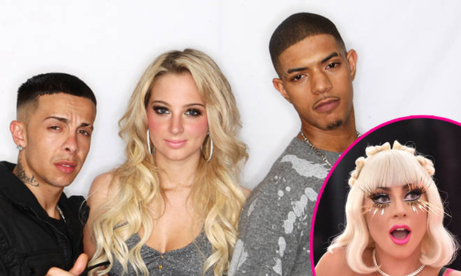 N Dubz have teunited on a new song for Lady Gaga