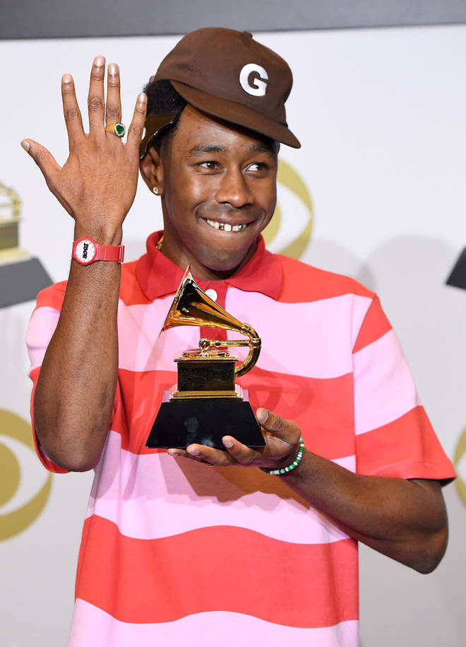 Tyler, The Creator won the Grammy Award for 'Best Rap Album' for his album 'IGOR' at the 2020 ceremony.