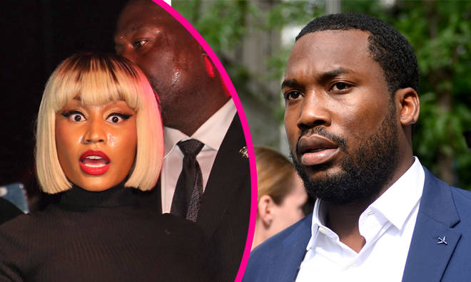 Meek Mill and Nicki Minaj get into heated argument