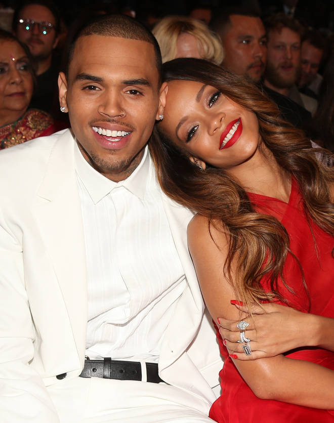 Chris Brown fans are convinced that the singer is talking about his ex Rihanna in his latest post.(Pictured in 2013.)