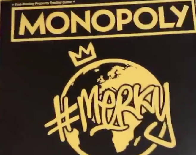 Stormzy shows off his 'Stormzy Edition' Monopoly game