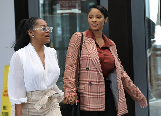 R. Kelly's former girlfriends had a physical fight at the singer's Trump Tower in Chicago