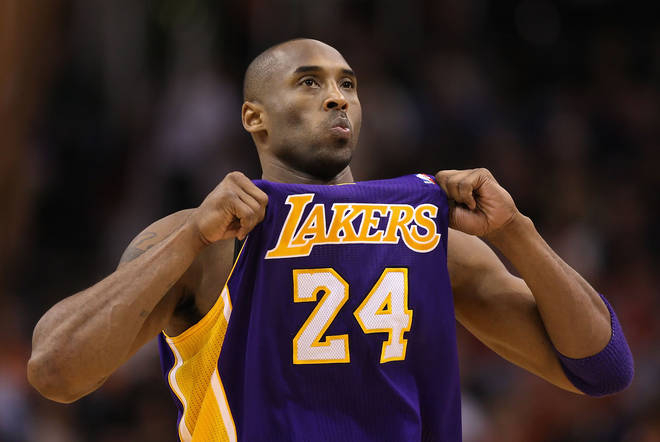 Wayne - a huge Lakers fan - left a 24 seconds of silence in honour of the late NBA superstar.