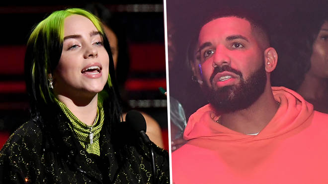 Billie Eilish, 18, has defended Drake 33, after he faced backlash for texting her when she was 17