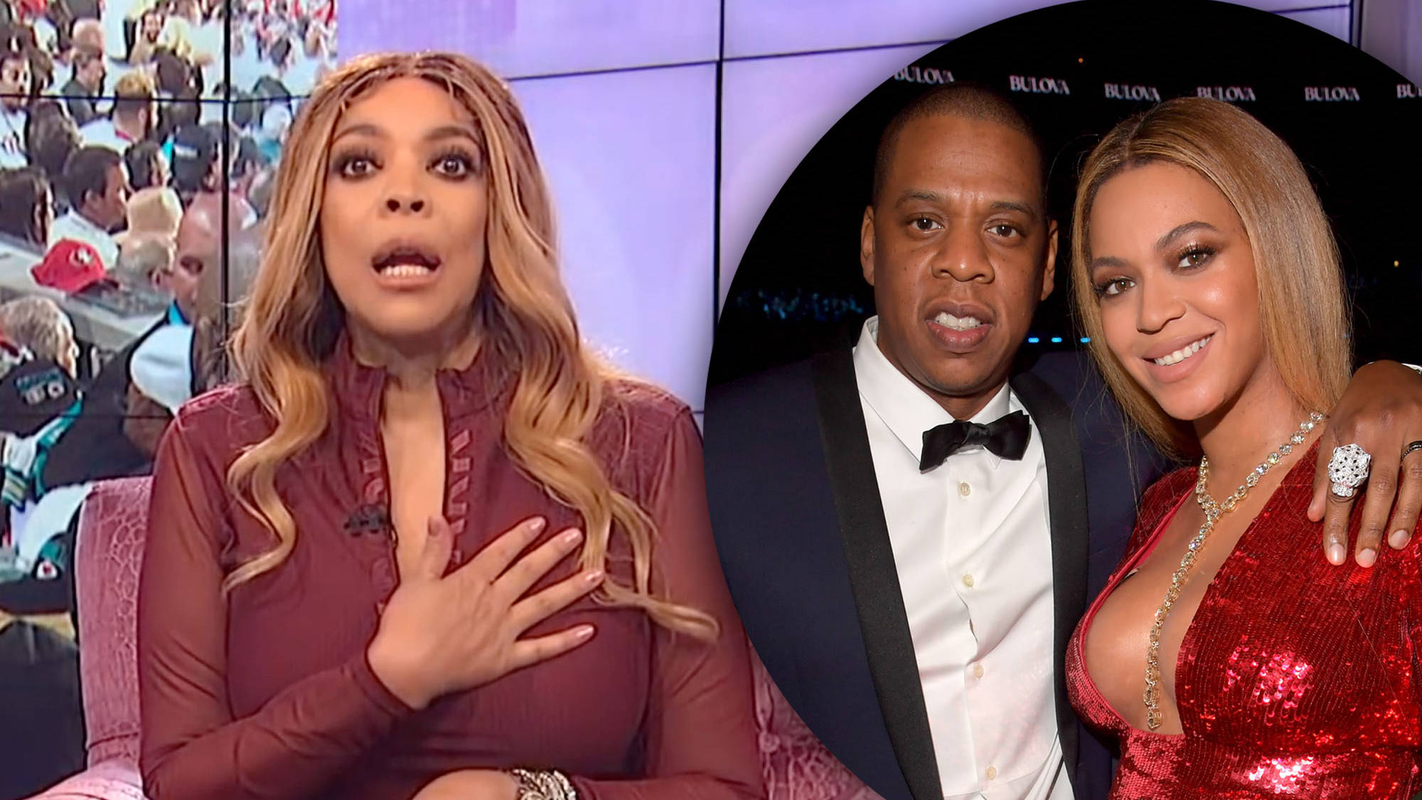 Wendy Williams slams Beyoncé & Jay Z for sitting down during Super Bowl national anthem