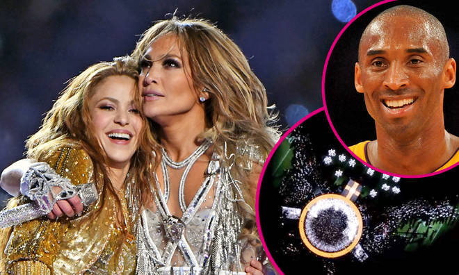 J Lo and Shakira paid tribute to Kobe Bryant during the Super Bowl 2020 halftime show