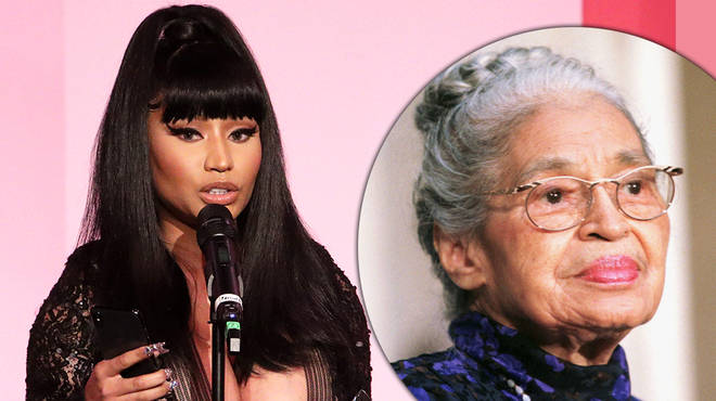 "Nicki Minaj allegedly claims her Rosa Parks lyric ""meant no disrespect"""