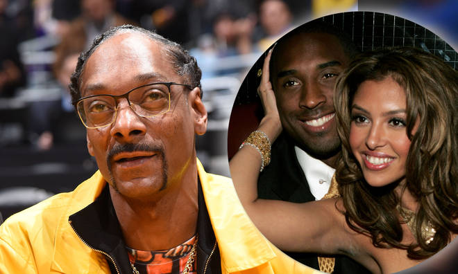 Snoop Dogg paid tribute to the late Kobe Bryant, who is survived by his wife Vanessa.